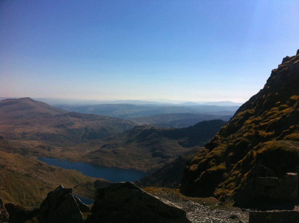 Hiking Mount Snowdon