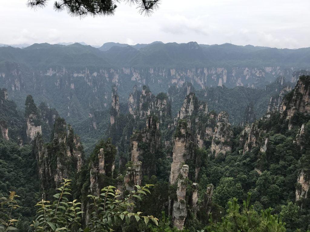 Tianzi Mountain Zhangjiajie