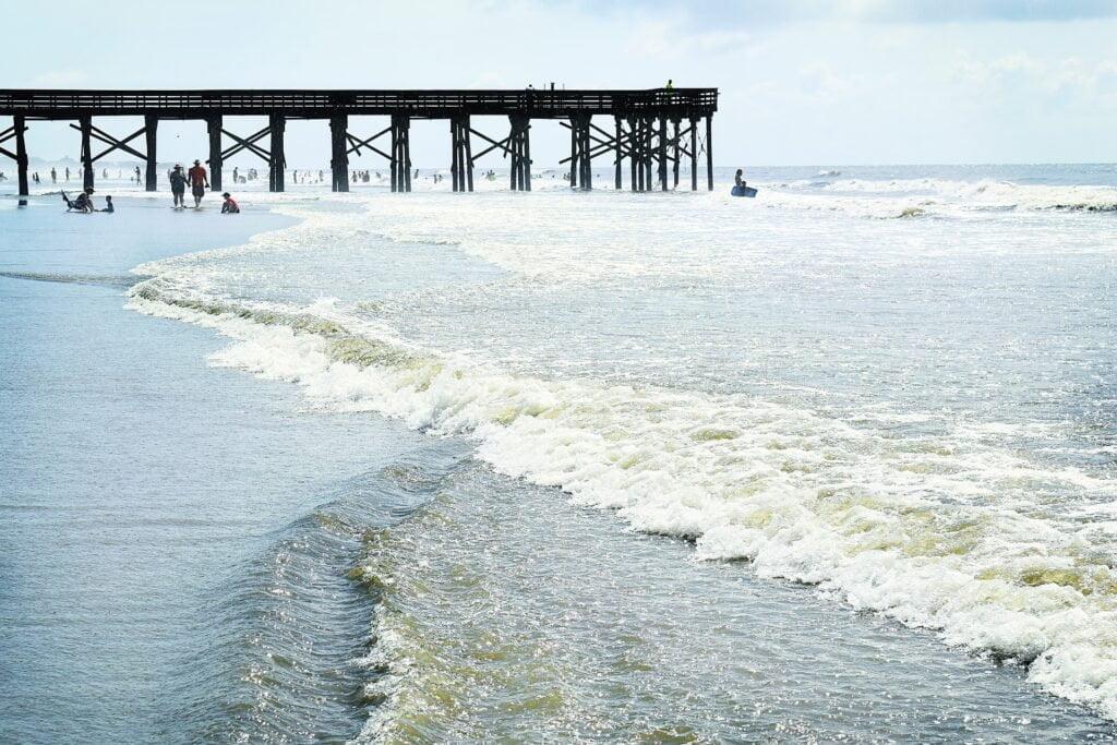 Isle of Palms Pier South Carolina