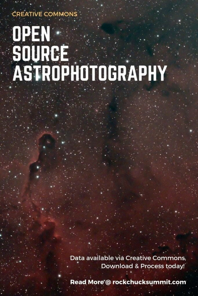 Creative Commons Astrophotography. Open Source Science and Astronomy Data.