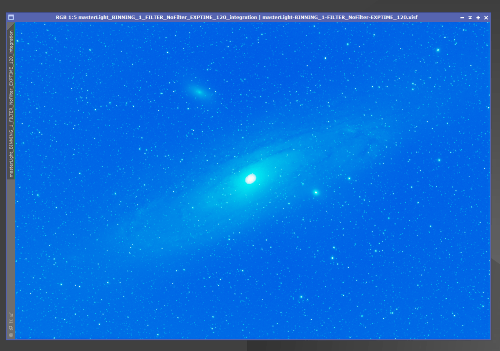 PixInsight process andromeda galaxy - remove gradients