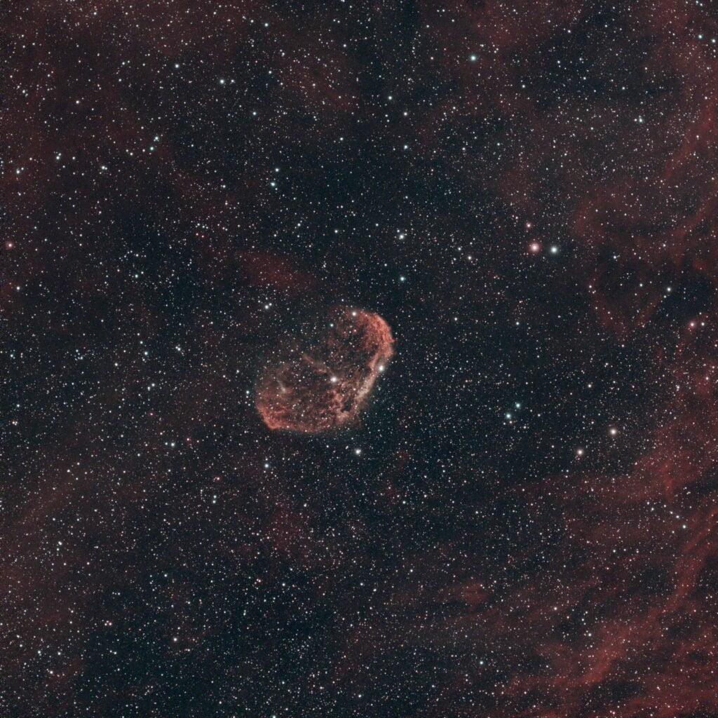 Crescent Nebula asi533