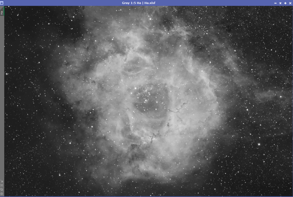 OSC Ha From Triad Quad Filter