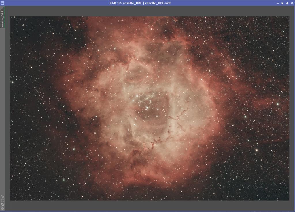 Triad Quadband Rosette Nebula