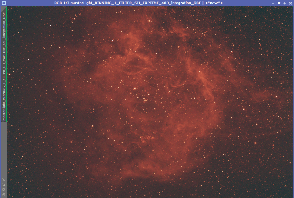 Rosette Nebula Antlia 3.5nm Sii OSC Camera